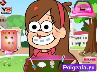 Картинка к игре Мейбл лечит зубы