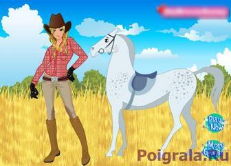 Игра Девушка и лошадь