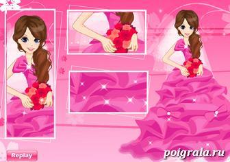 Свадебная одевалка девушки картинка 1