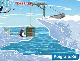 Картинка к игре Вперед пингвин
