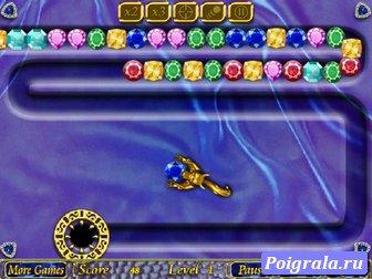Игра Зума золотая белка