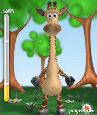 Игра Говорящий жираф Джина