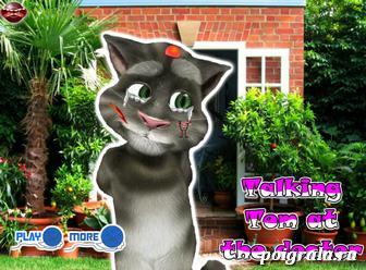 Говорящий кот Том у врача картинка 1