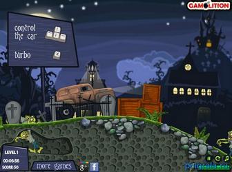 Картинка к игре Гонщик на кладбище