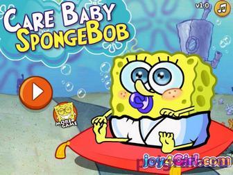 Малыш Губка Боб картинка 1