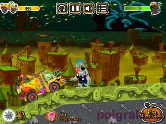 Картинка к игре Губка Боб против зомби