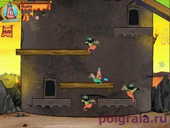 Картинка к игре Спанч Боб рыцари и драконы