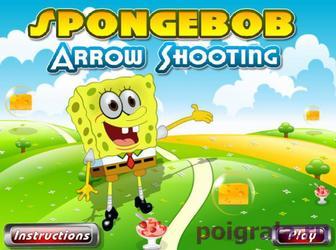 Игра Спанч боб стреляет из лука