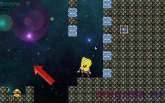 Картинка к игре Губка Боб в галактике