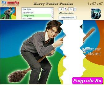 Картинка к игре Гарри Поттер Пазл