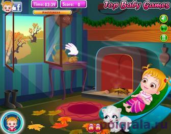 Картинка к игре Малышка Хейзел и день благодарения