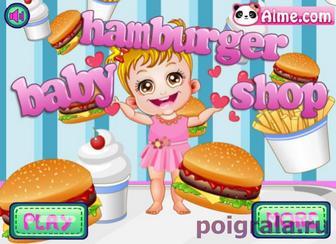 Игра Малышка Хейзел в магазине гамбургеров