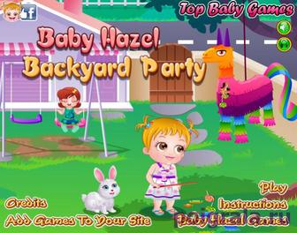 Малышка хейзел вечеринка во дворе картинка 1