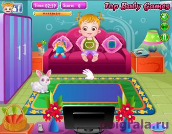 Картинка к игре Малышка хейзел вечеринка во дворе