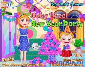 Игра Малышка Хейзел новый год
