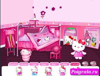 Дизайн комнаты Хелло Китти картинка 1
