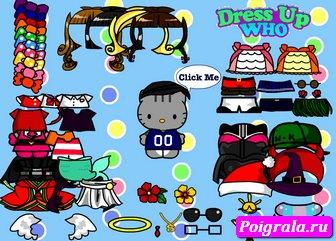 Картинка к игре Одежда хелло Китти
