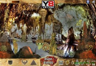 Картинка к игре Скрыто в пещере