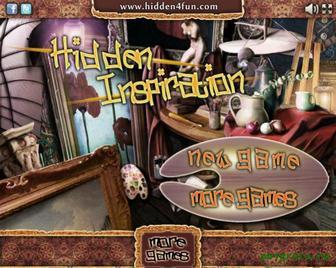 Игра Hidden inspiration