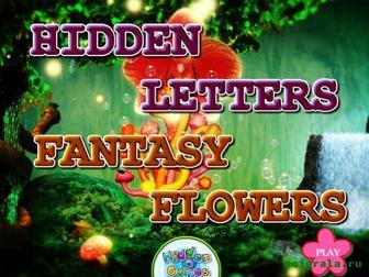 Игра Найди буквы в цветах