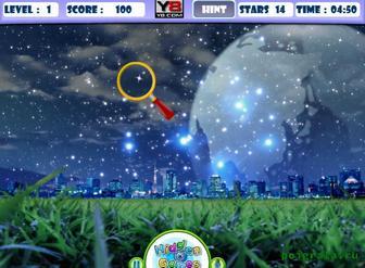 Картинка к игре Найди звезды на ночном небе