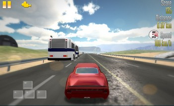 Гонщик по шоссе 3Д картинка 1