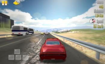 Картинка к игре Гонщик по шоссе 3Д