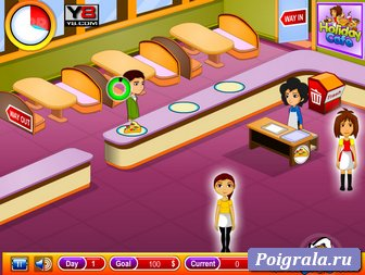 Картинка к игре Официант в кафе