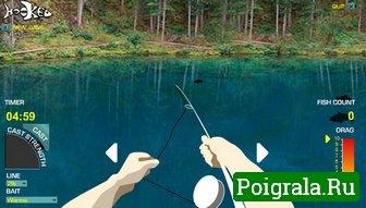 Русская рыбалка на озере картинка 1