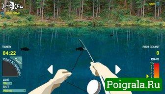 Картинка к игре Русская рыбалка на озере