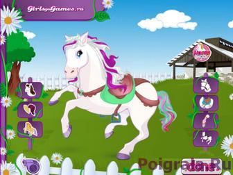 Картинка к игре Одевалка лошадки