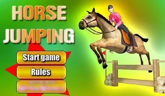 Прыжки на лошади картинка 1