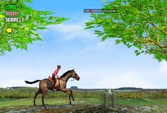 Картинка к игре Прыжки на лошади