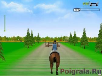 Картинка к игре Прыжки на лошади 2