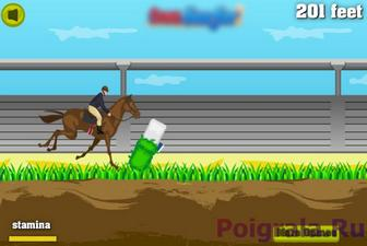 Картинка к игре Бег с препятствиями на лошадях