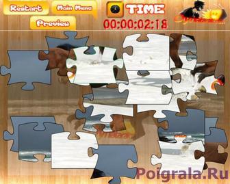 Картинка к игре Собери лошадь 2, пазл