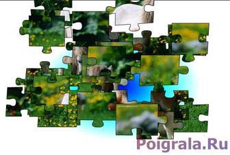 Картинка к игре Пазл, два маленьких пони