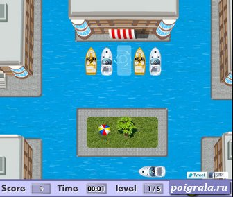 Картинка к игре Парковка катера