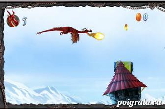 Летающий дракон картинка 1