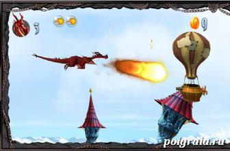 Картинка к игре Летающий дракон