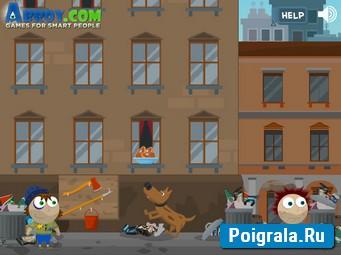 Картинка к игре Бомж Хьюго
