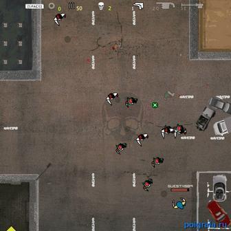 Картинка к игре Люди против зомби