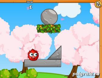 Игра Огонь и вода: шарики