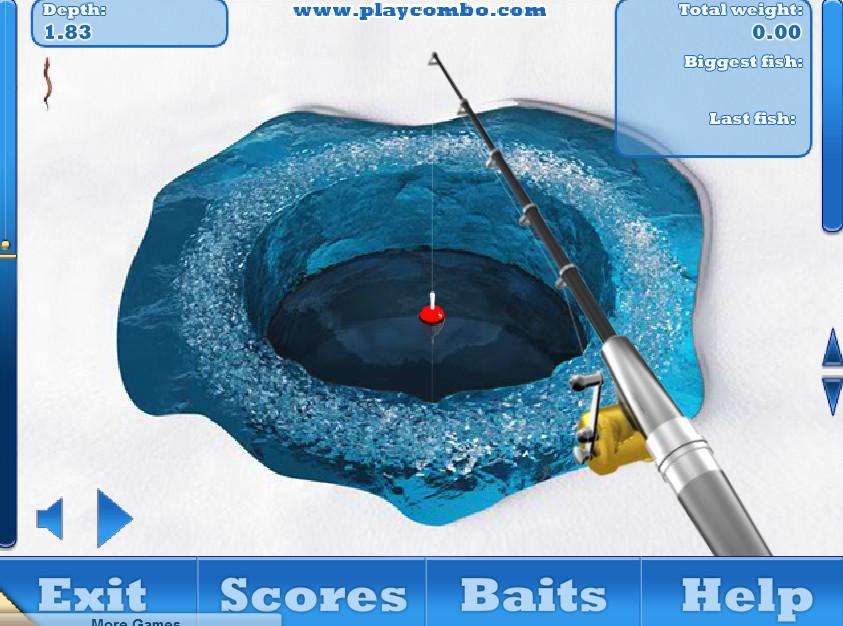 Картинка к игре Зимняя рыбалка подледный лов