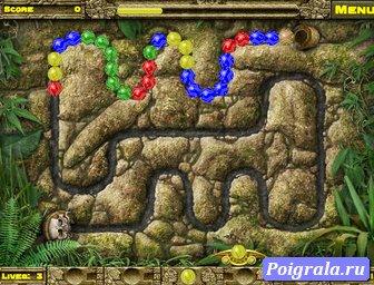 Картинка к игре Зума храм инков