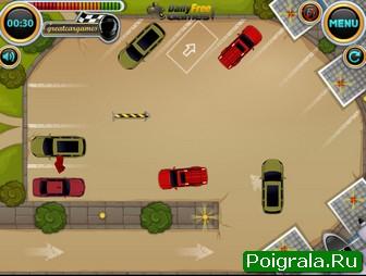 Картинка к игре Парковка легковой машины