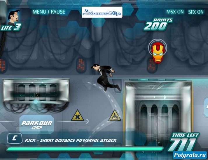 Картинка к игре Железный человек, восстание машин