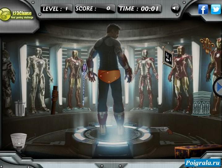 Картинка к игре Железный человек 3, поиск предметов