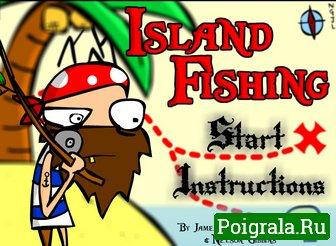 Игра Рыбалка на острове
