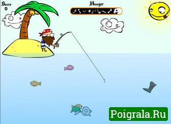 Картинка к игре Рыбалка на острове
